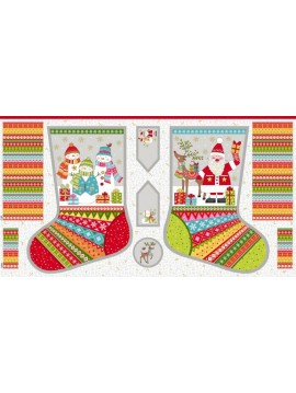 Panel Calcetines - Festive Stocking